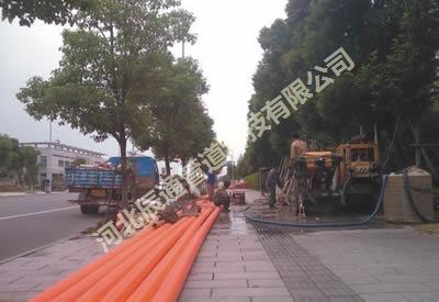 西安锦业二路188bet客户端下载排管项目