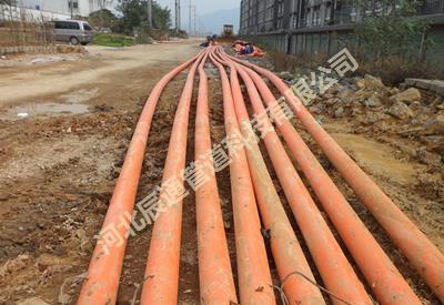 晋中市渝北高压线路定向钻托管工程